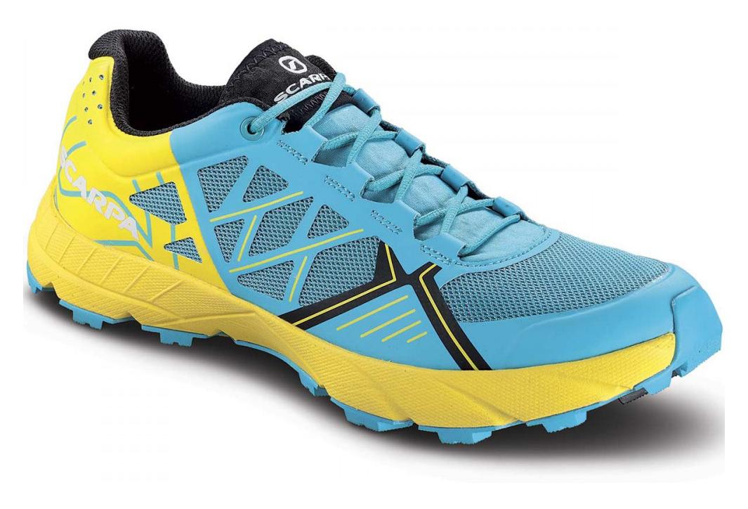 meilleurs prix bons plans sur la mode classique Chaussures De Trail Scarpa Spin Scuba Blue Lemon