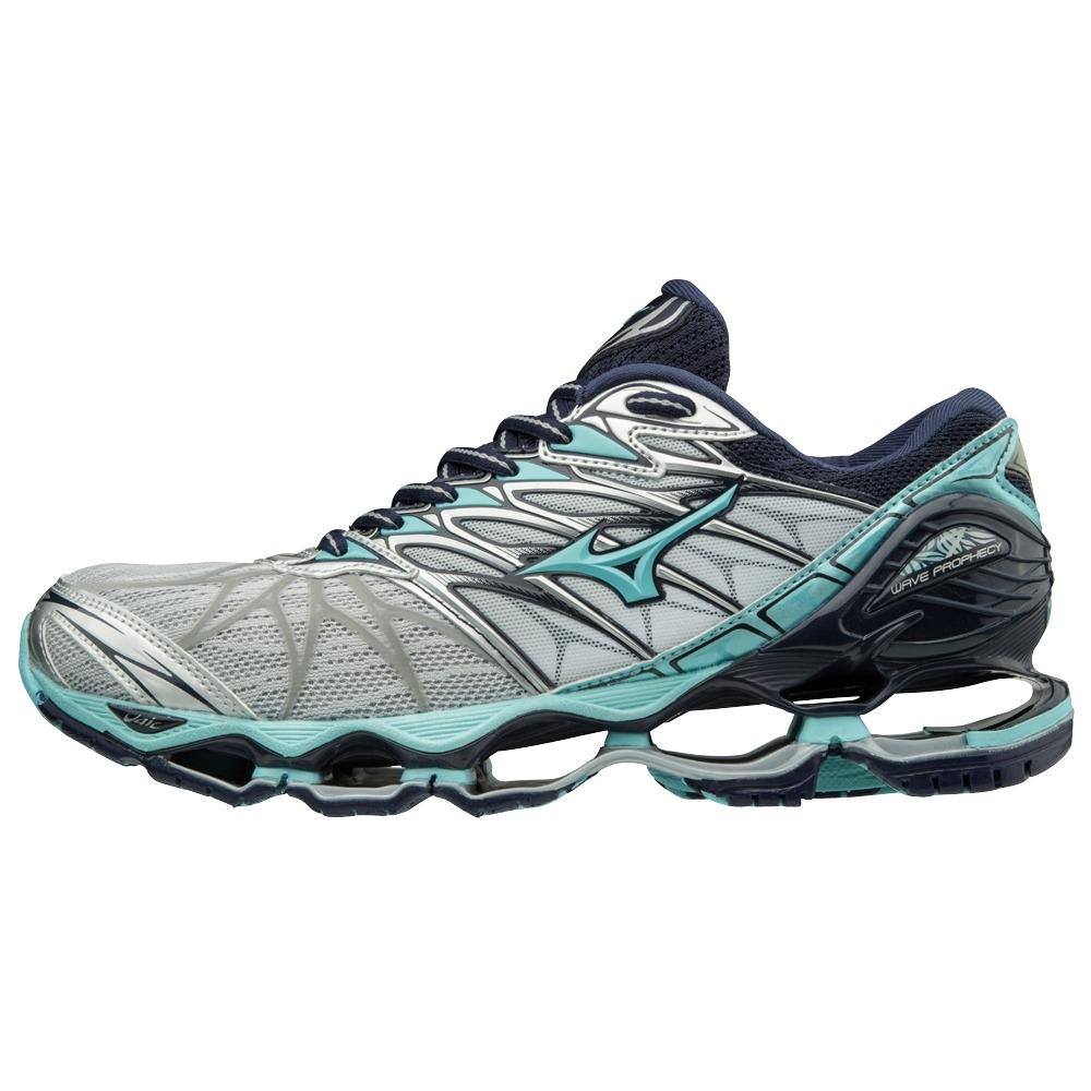 5f230df40875a Chaussures femme Mizuno Wave Prophecy 7   Alltricks.com