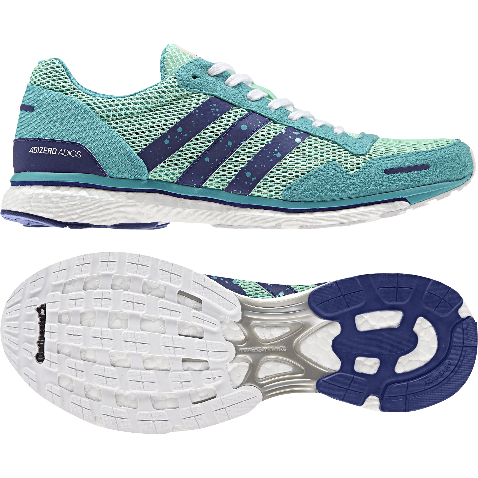best website 3221b d72ba Chaussures femme adidas Adizero Adios 3