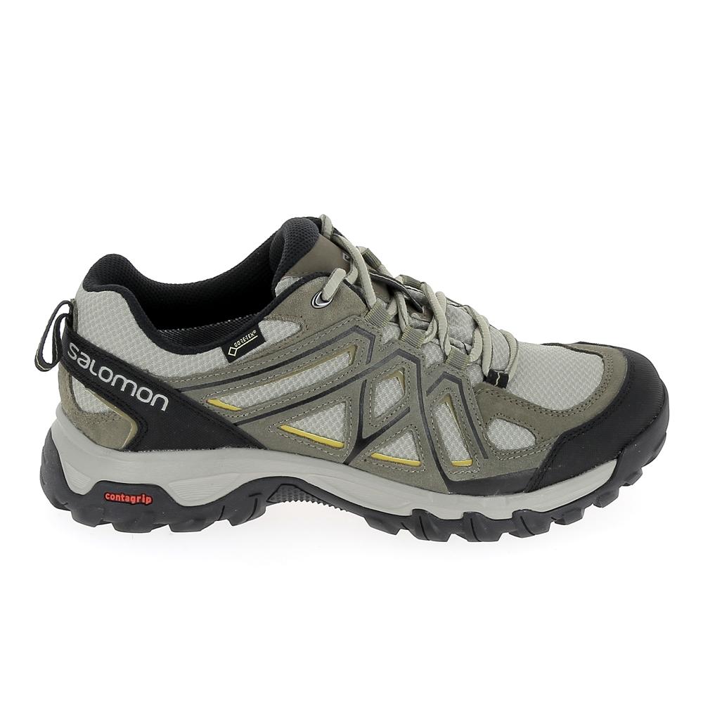 Chaussure de marcheRando Trail SALOMON Evasion 2 GTX Gris Kaki