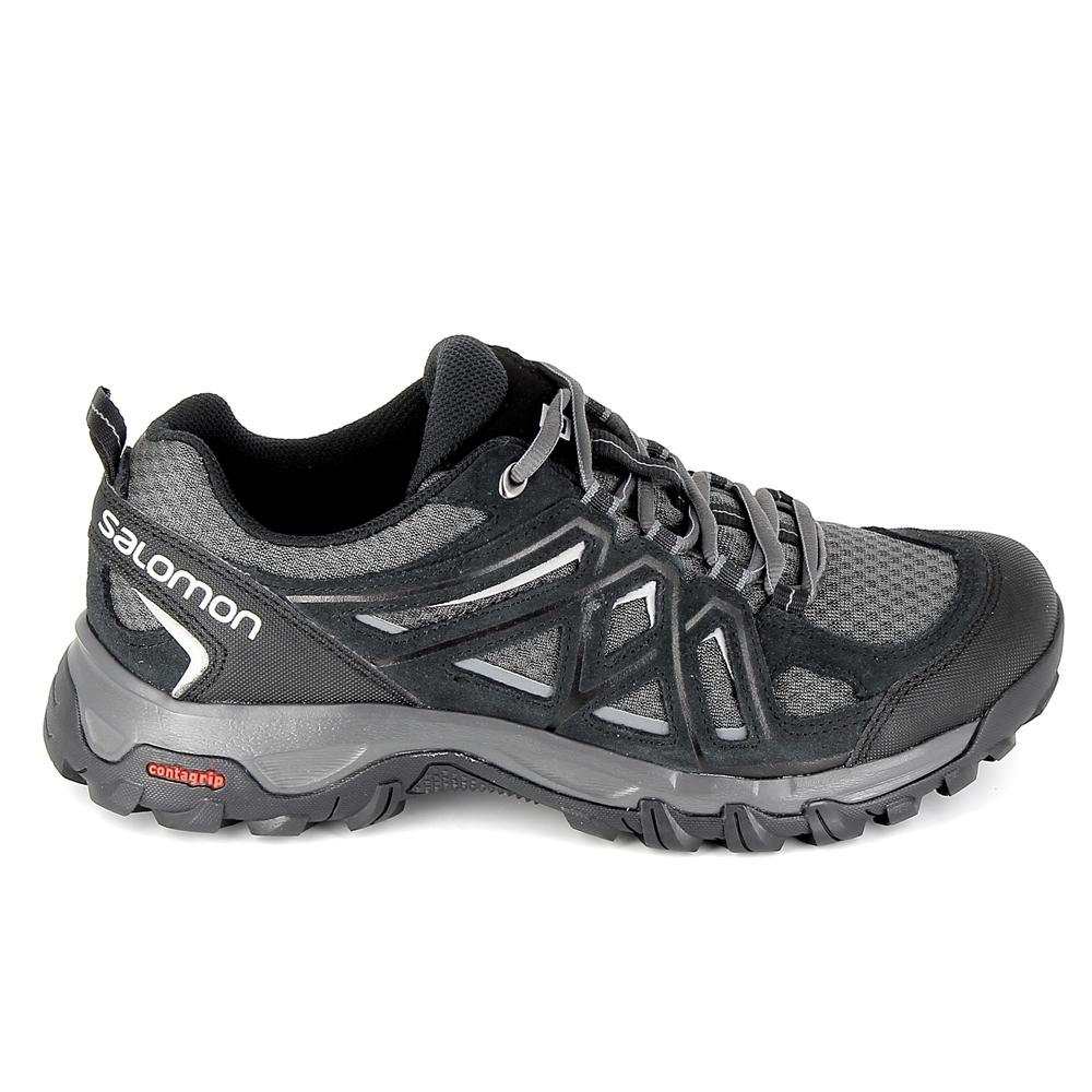 SALOMON EVASION AERO NOIRE Chaussures de Randonnée