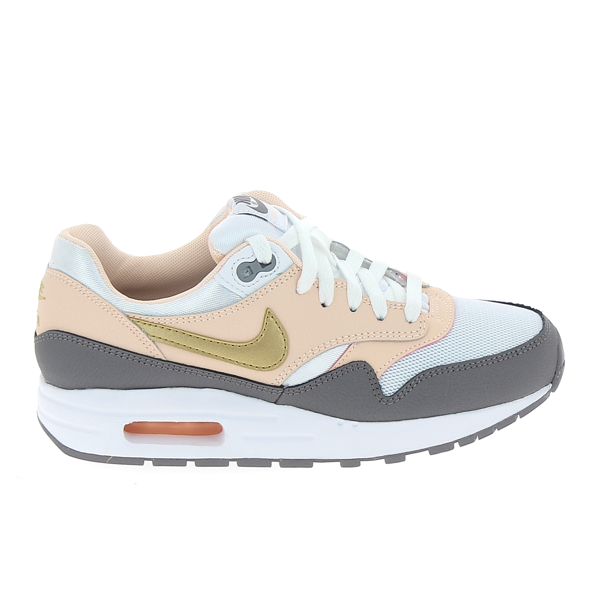 check-out 7405d ca407 Basket mode, Sneaker NIKE Air Max 1 Jr Rose Gris