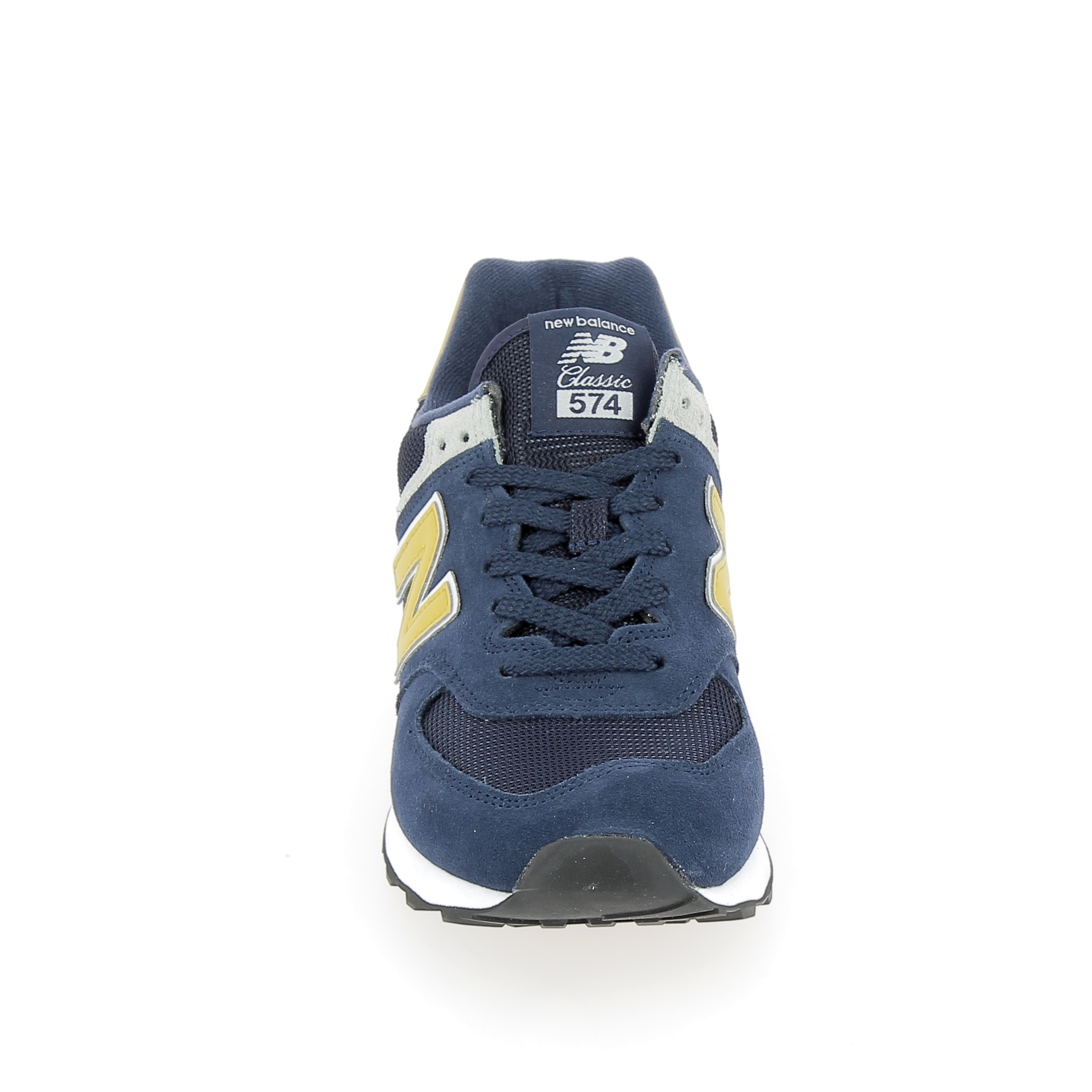 best sell lace up in how to buy Basket mode, SneakerBasket mode - Sneakers NEW BALANCE ML574D Marine Jaune
