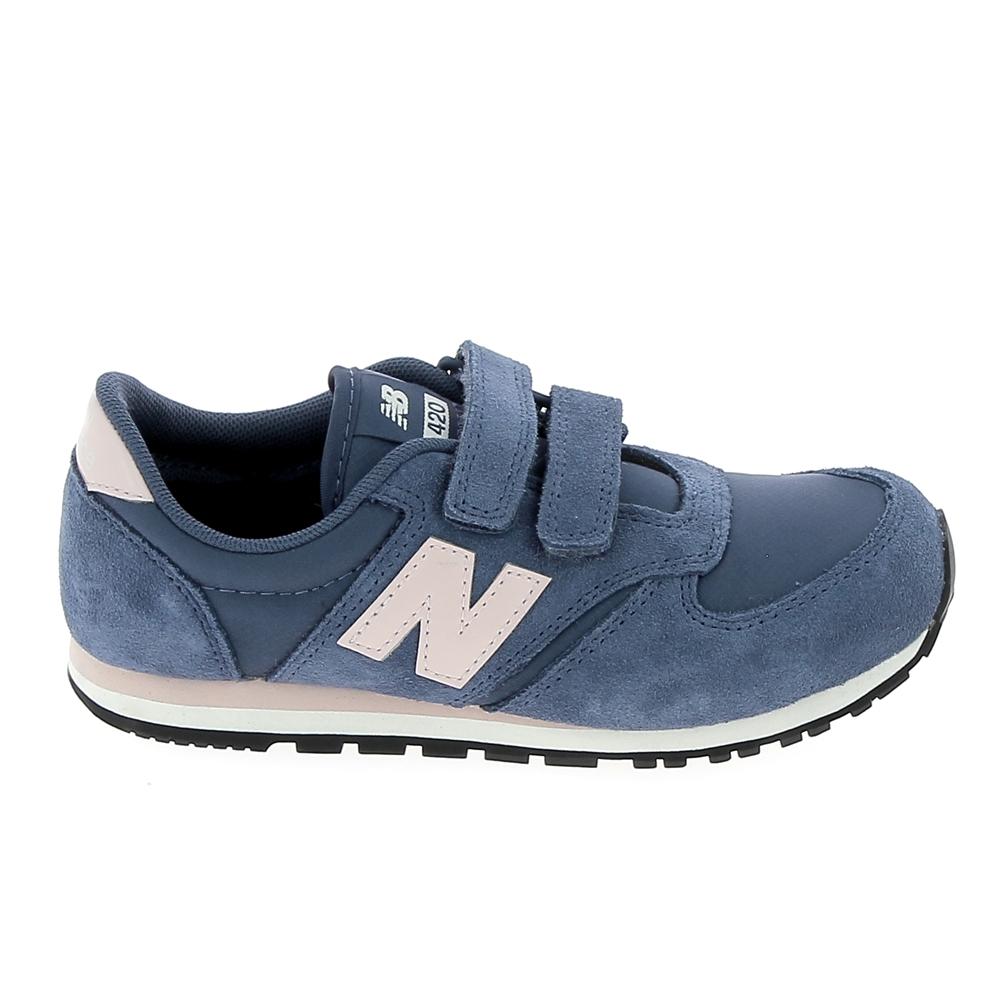 pas mal 7e860 aff7e Basket mode, Sneaker NEW BALANCE KE420 C Bleu Clair