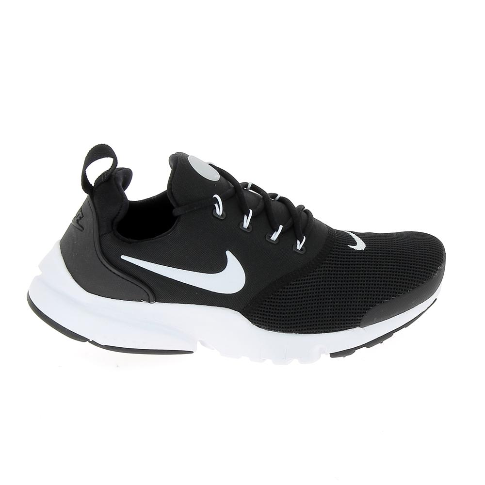 lace up in the cheapest various styles Basket mode, Sneaker NIKE Presto Fly Jr Noir Blanc