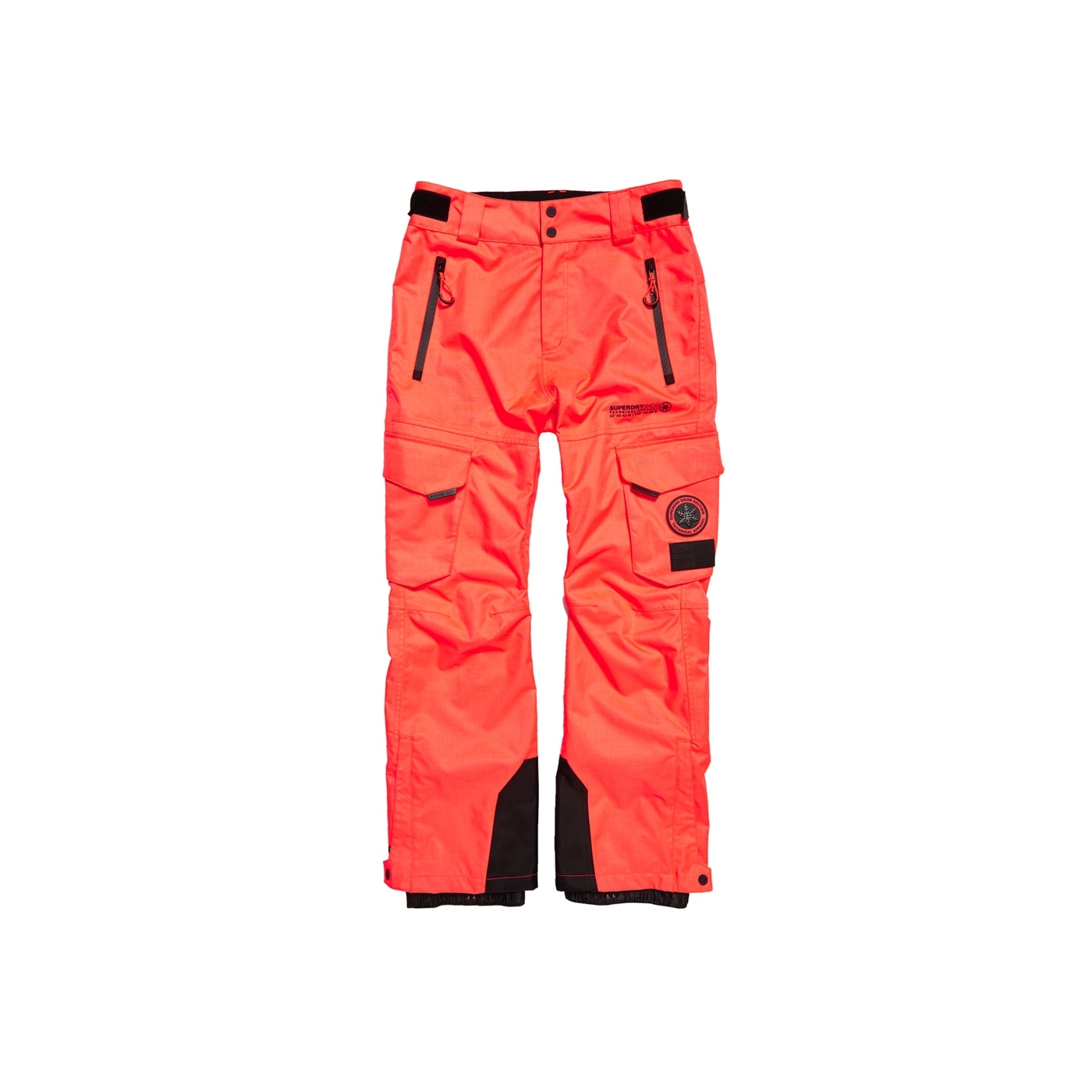 ad7e81c8292af Pantalon De Ski Superdry Snow Pant Hyper Orange
