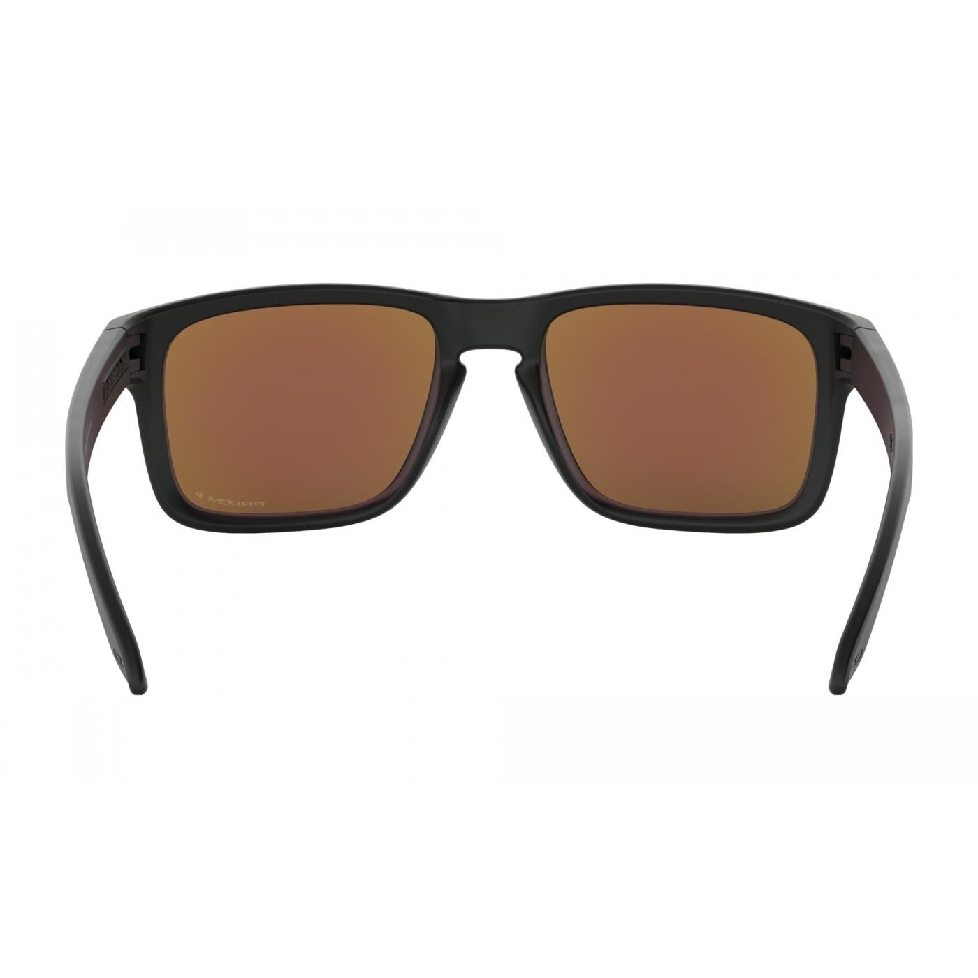8f3d91322df4a Lunettes De Soleil Oakley Holbrook Matte Black Prizm Sapphire Polarized