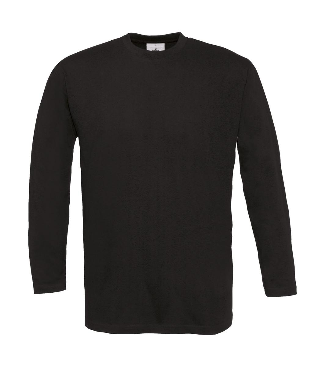 687e0a74fe626 Betc T-shirt manches longues homme - col rond - TU005 - noir ...