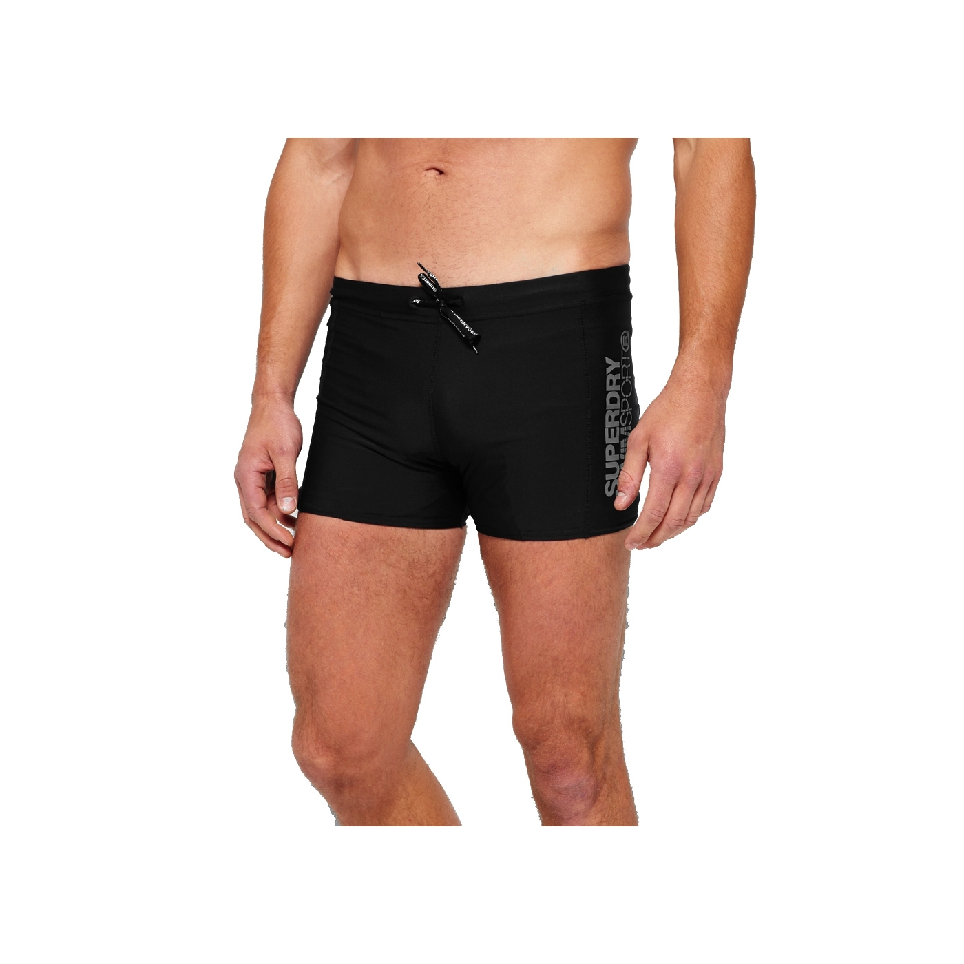 Superdry Sport Maillot Swim Pour Homme Bain Trunk Black Shorts De Midi Ygmf7I6yvb
