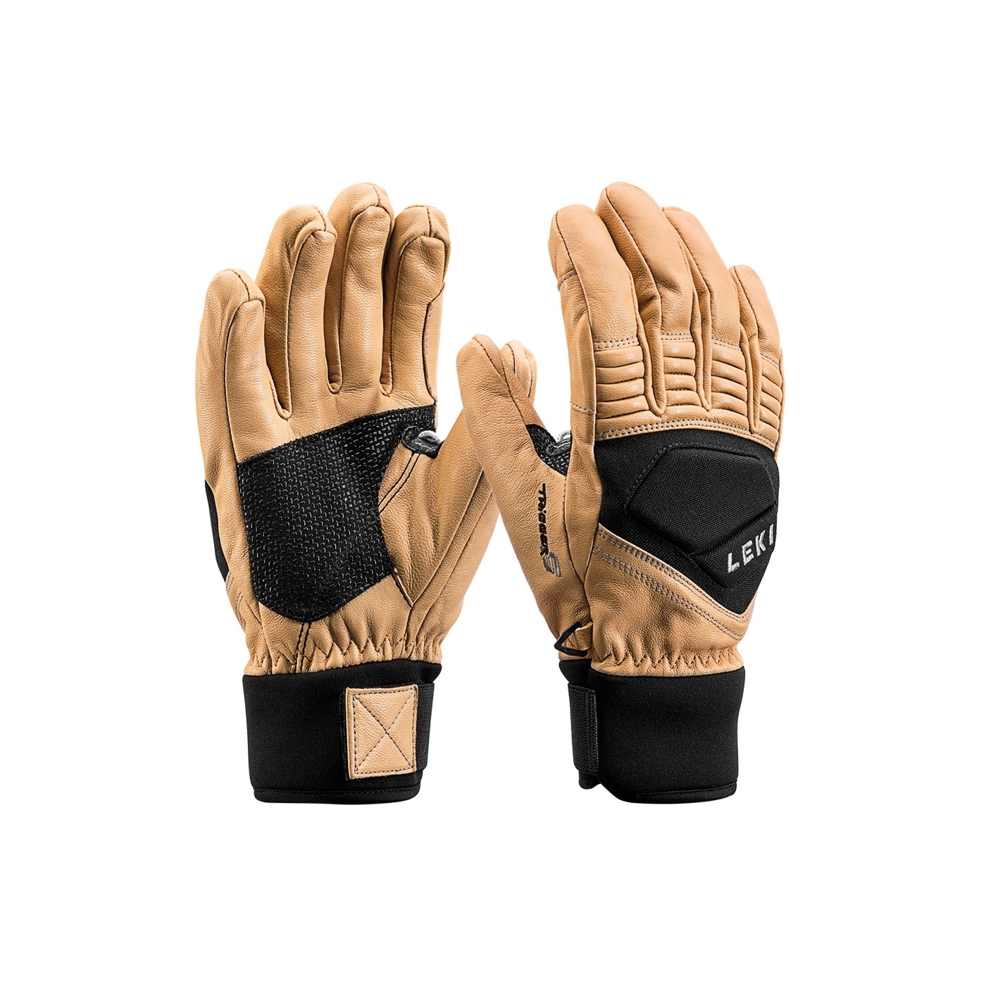 nouveau authentique site réputé énorme réduction Gants De Ski Leki Element Copper S Trigger S Tan Black