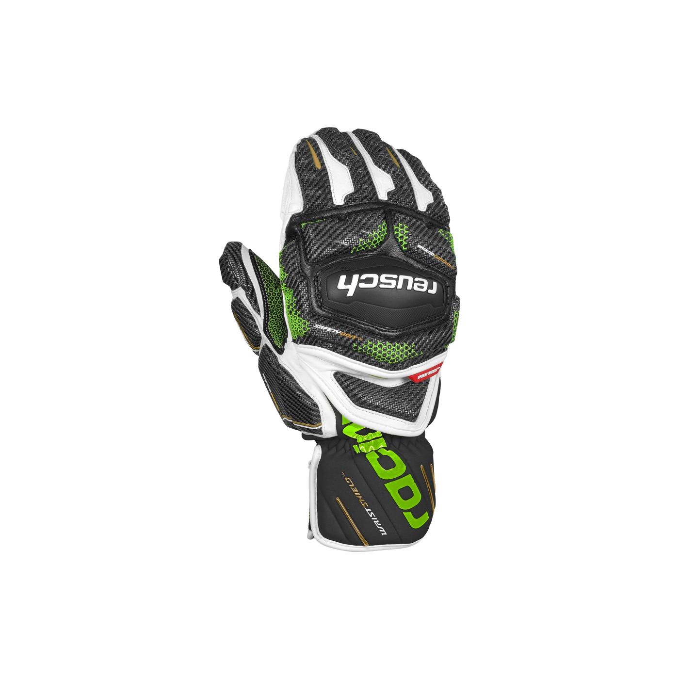 dernière collection authentique mode de vente chaude Moufles De Ski Racing Reusch Race Tec 18 Gs Mitten Bk/wh/gr