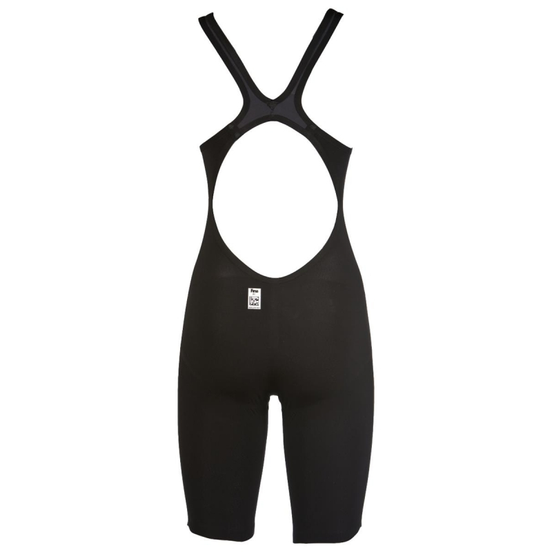 0014a0f6bfd ARENA Carbon Air Open Dark Grey Black- Combinaison Natation Femme - Dos  Ouvert