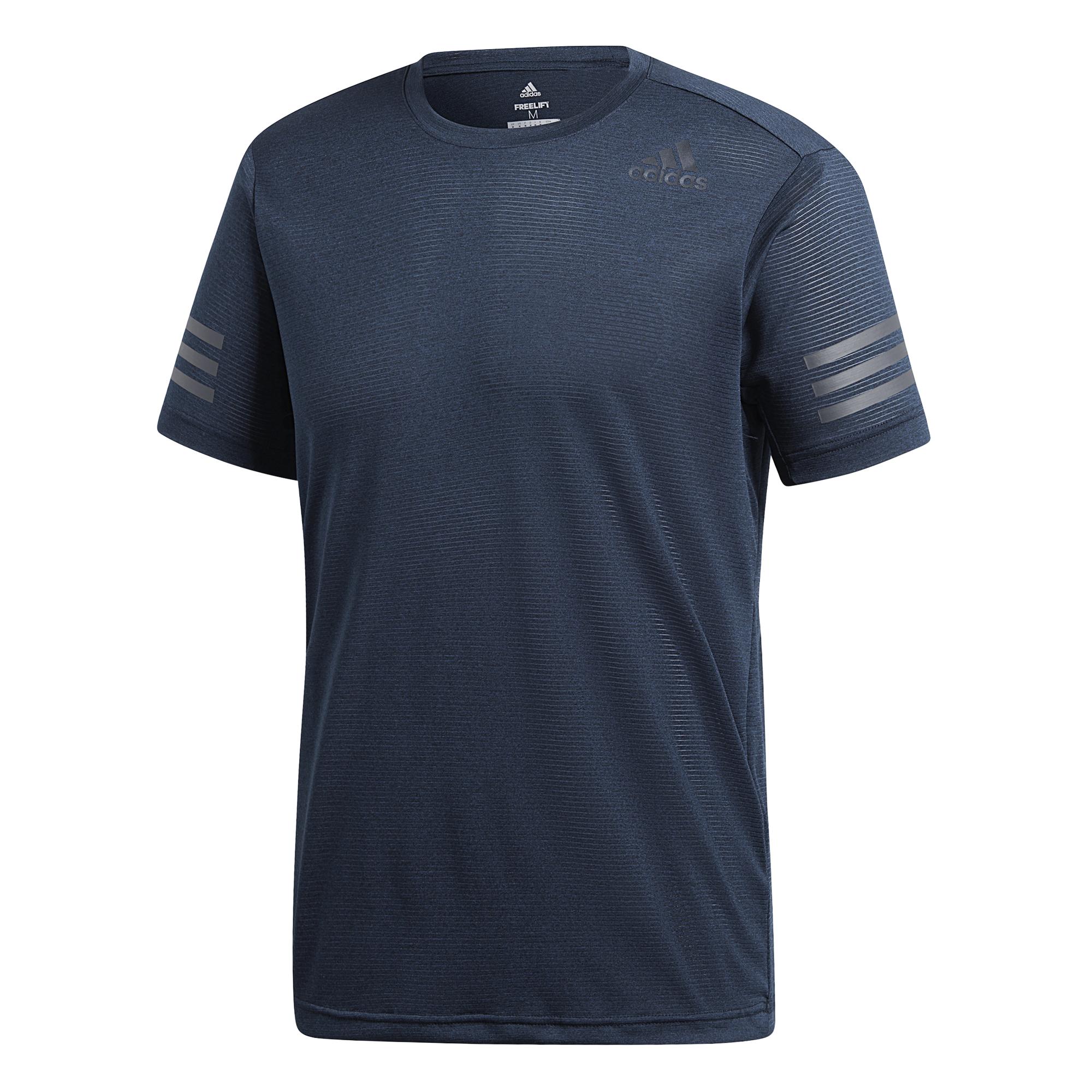 adidas FreeLift Climacool T Shirt Herren energy Blau