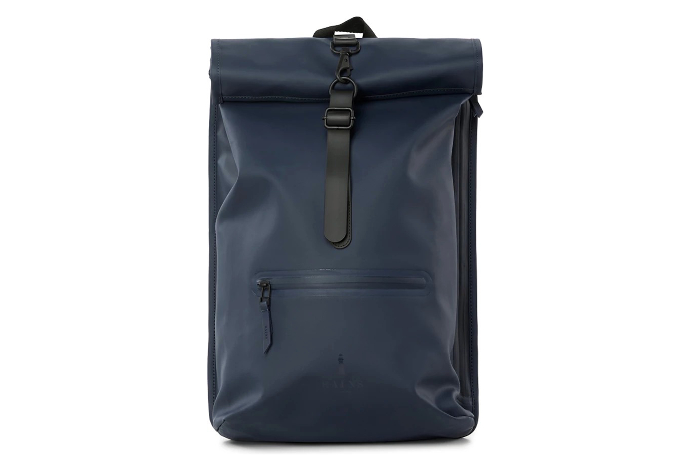 good quality best price look good shoes sale Rains Rolltop Rucksack Blue