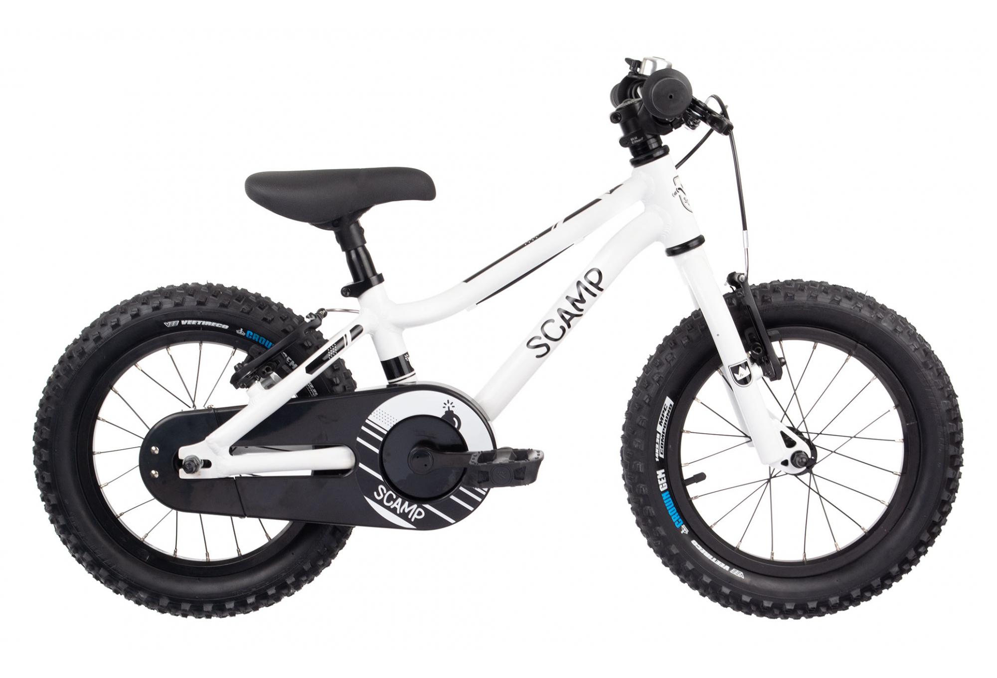 Velo Appartement Pour Enfant vélo enfant scamp vélo 14'' smallfox 14 blanc