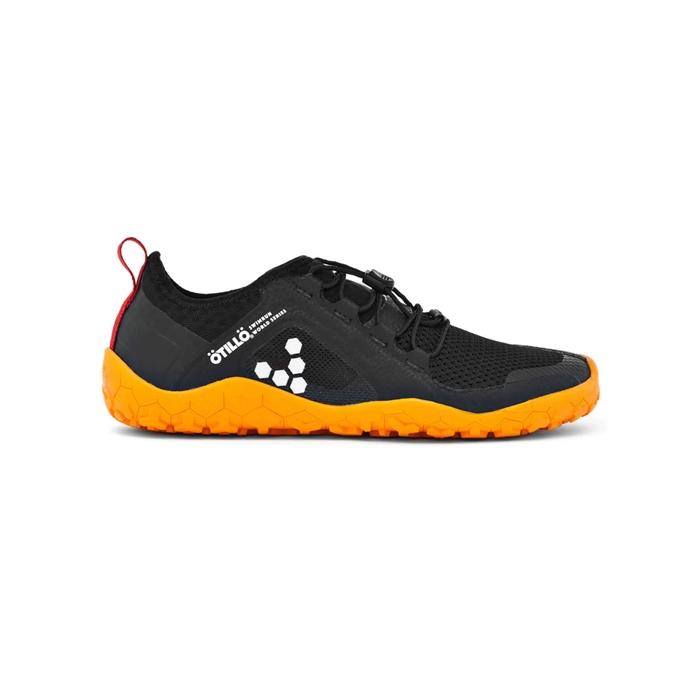 bdd3669530630b Chaussures Vivobarefoot Primus SWIMRUN FG Noir et Orange Homme ...