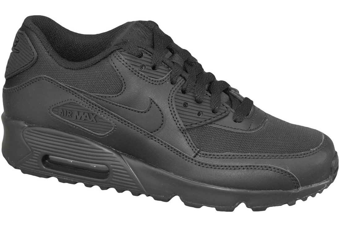 san francisco e8d01 e34c6 Nike Air Max 90 Mesh Gs 833418-001 Garçon sneakers Noir  All