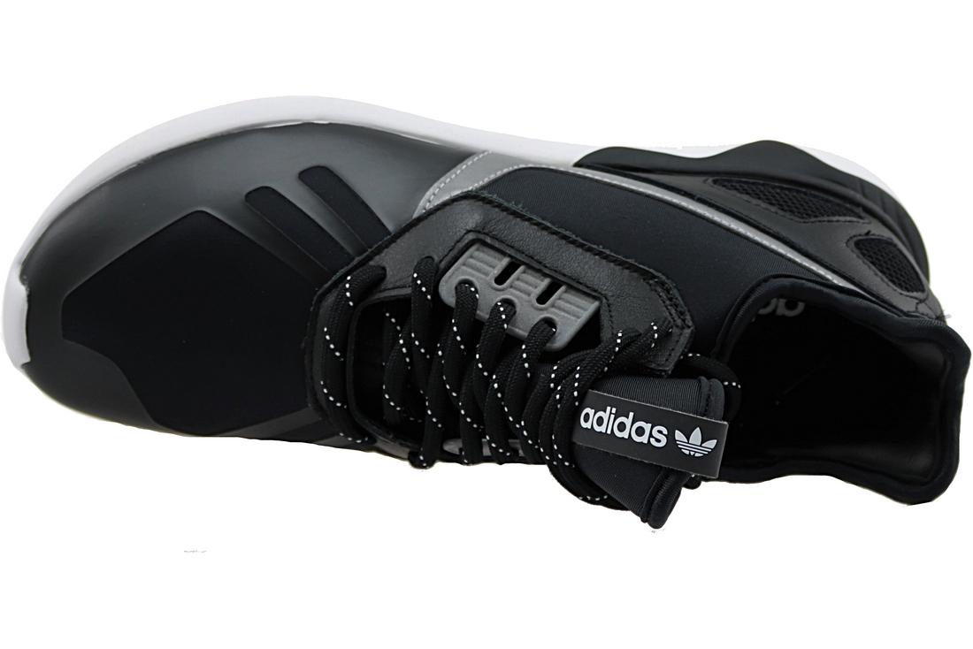 huge discount 81508 b10c5 Adidas Tubular Runner Trainers B25525 Homme chaussures de sport Noir