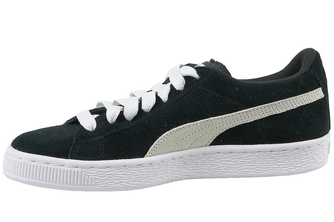 bas prix 7832f e3769 Puma Suede JR 355110-01 Garçon sneakers Noir