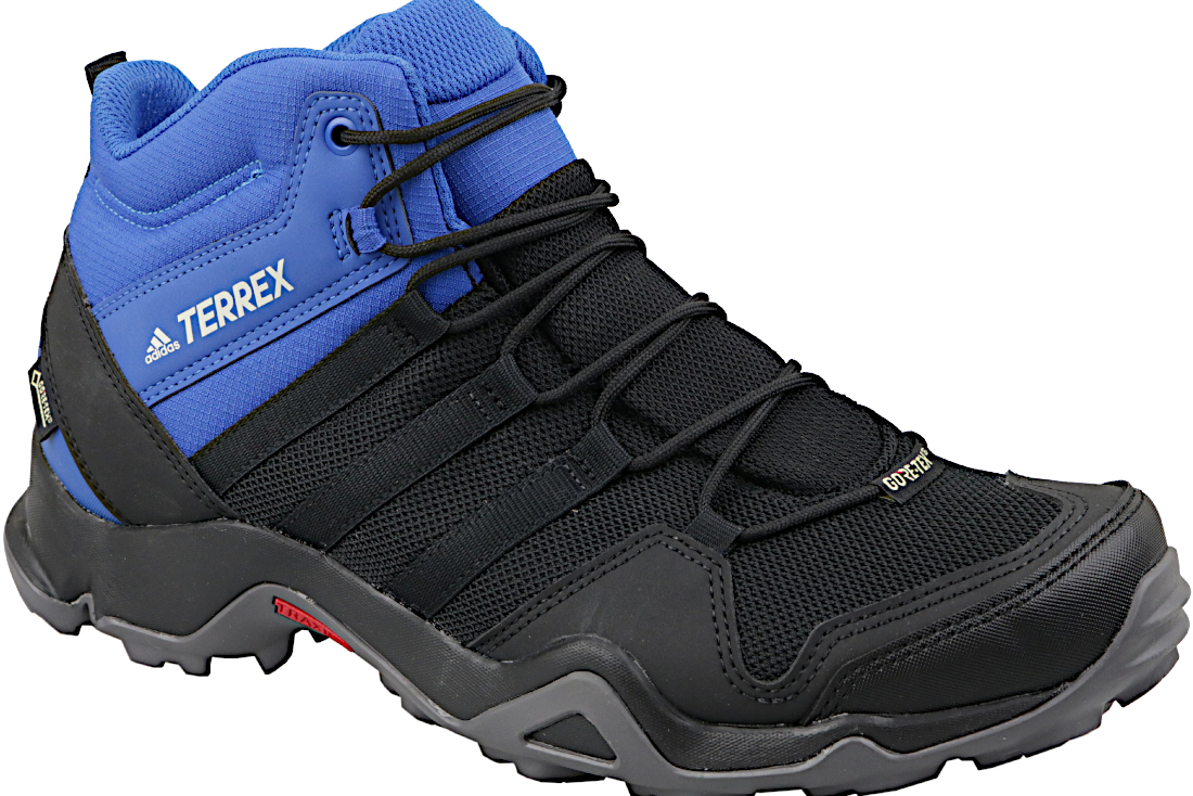 sports shoes a863f 40976 Adidas Terrex AX2R Mid GTX AC8035 Homme chaussures randonnée Noir