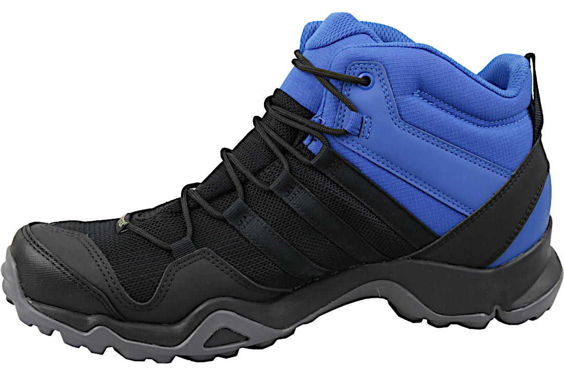 sports shoes cd542 7f449 Adidas Terrex AX2R Mid GTX AC8035 Homme chaussures randonnée Noir