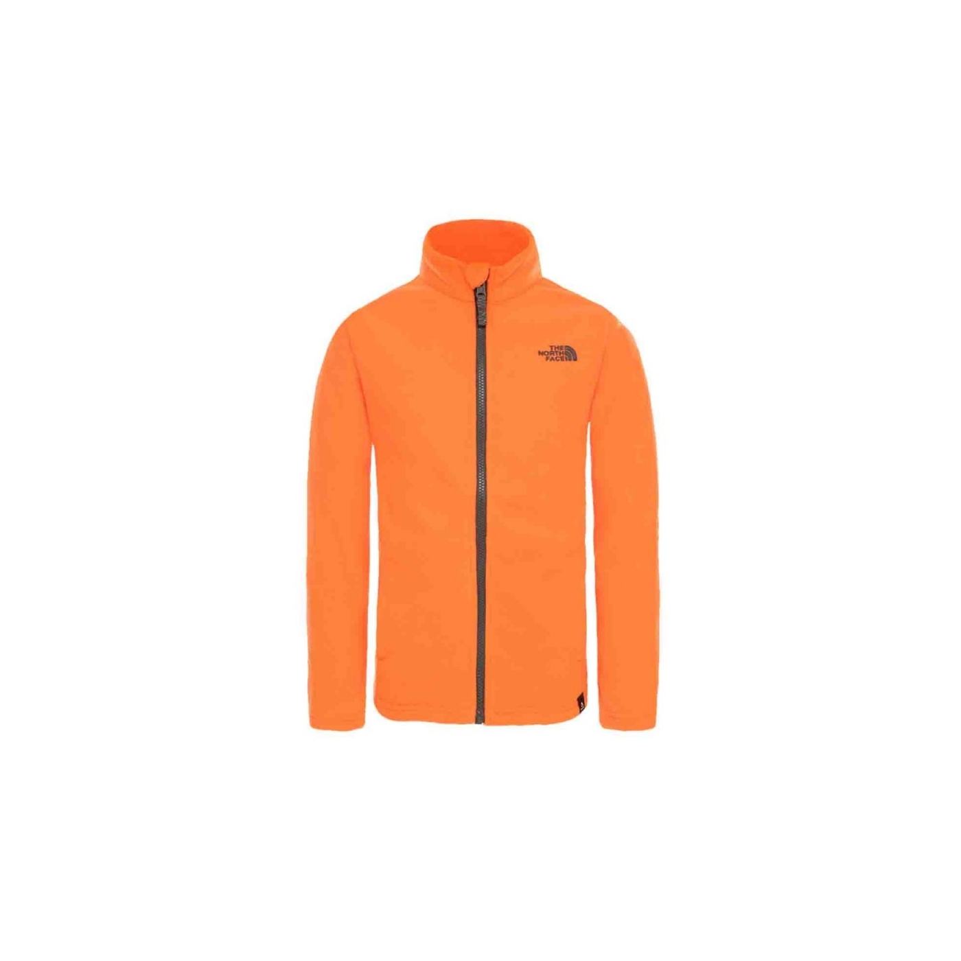 f4d2c0a6aa Polaire The North Face Y Snow Quest Full Zip Orange   Alltricks.com
