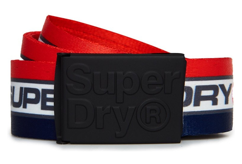 footwear info for new cheap Ceinture Superdry Trophy Belt Tri Colour