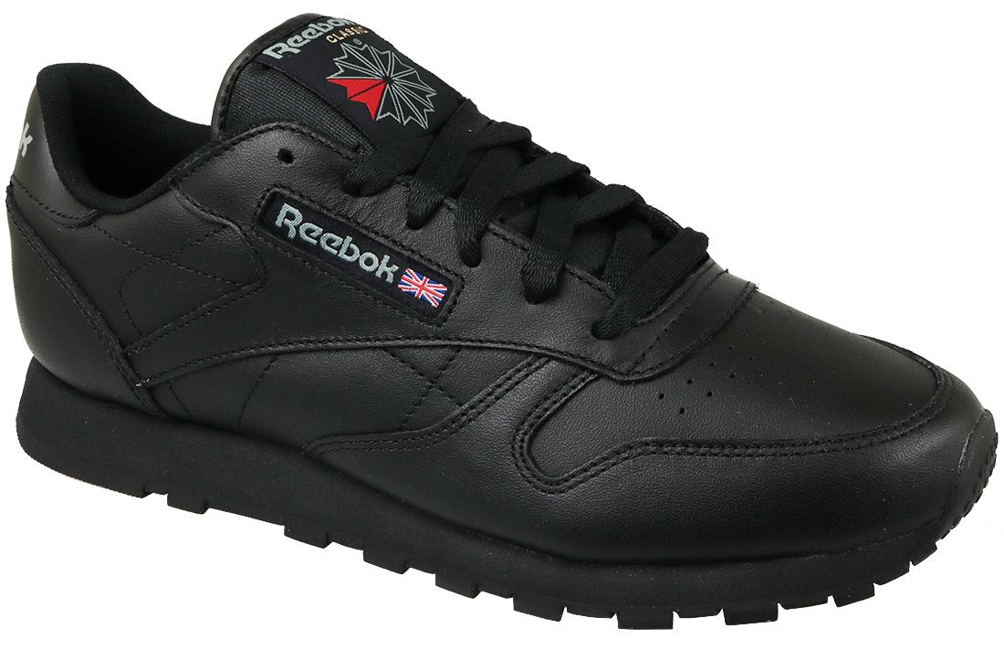 De Femme 3912 Noir Reebok Leather Chaussures Classic Sport qMGSzVUp