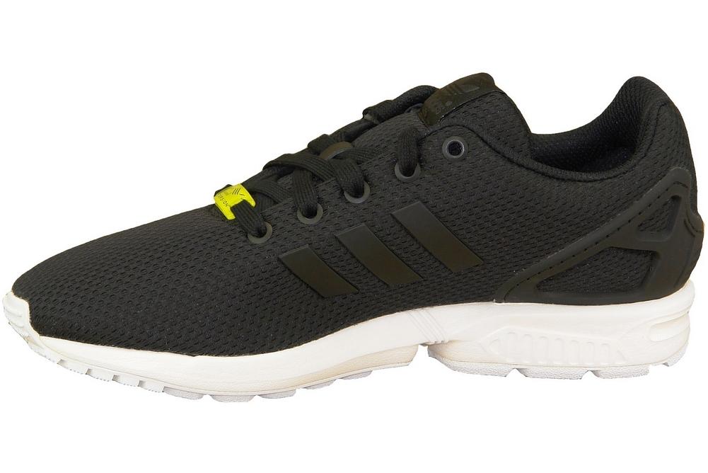 reputable site 97a5e 87c50 Adidas ZX Flux K M21294 Garçon chaussures de sport Noir