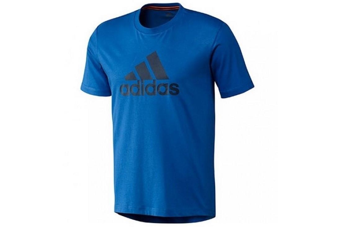 Tshirt G80950 T Logo Adidas Homme Shirt Bleu 7gyvbf6Y