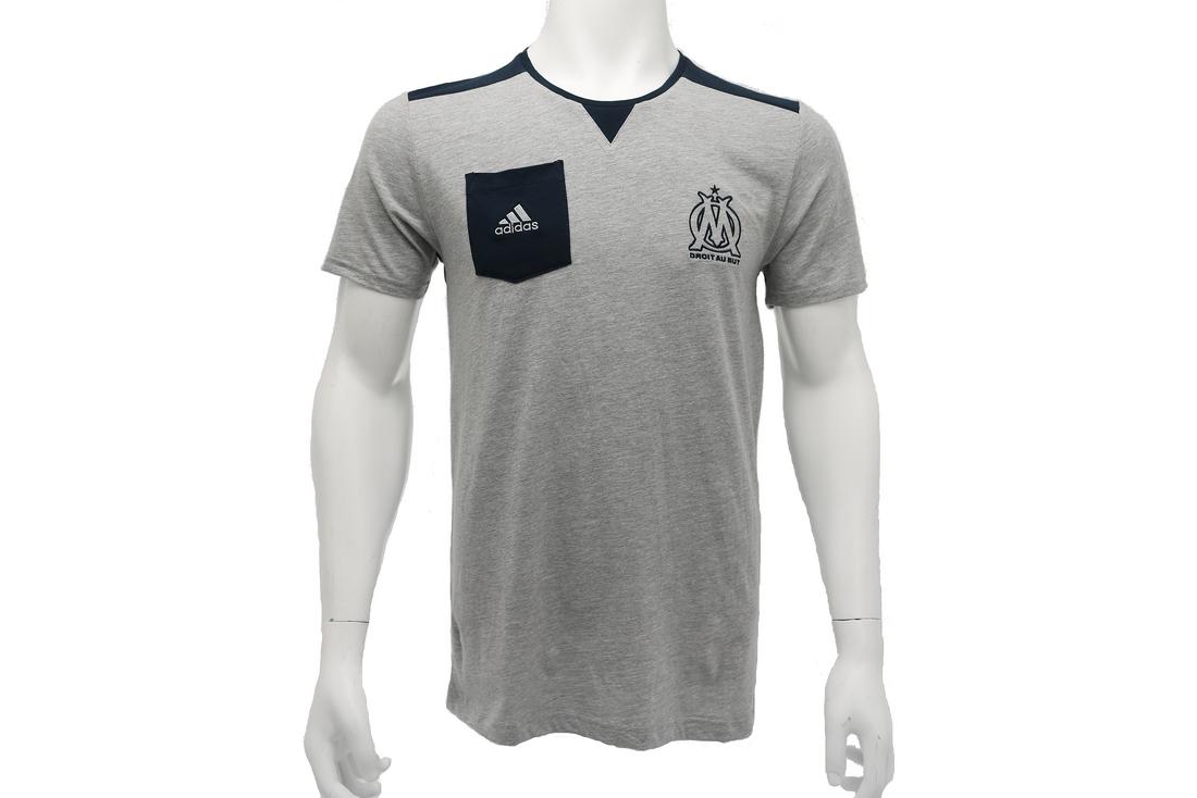 100% authentique a5960 9277e Adidas OM SF Tee F85713 Homme t-shirt Gris   Alltricks.com