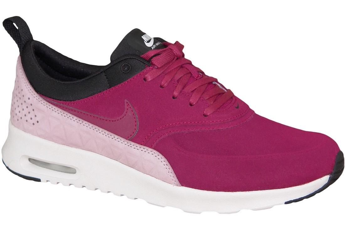 nouveau style a7b1c 883eb Wmns Nike Air Max Thea Premium 845062-600 Femme sneakers Bordeaux