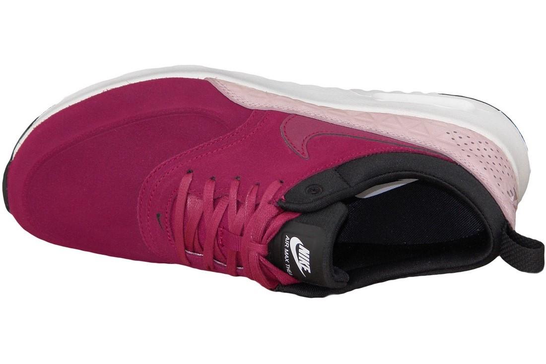 nouveau style 10916 8dbe5 Wmns Nike Air Max Thea Premium 845062-600 Femme sneakers Bordeaux
