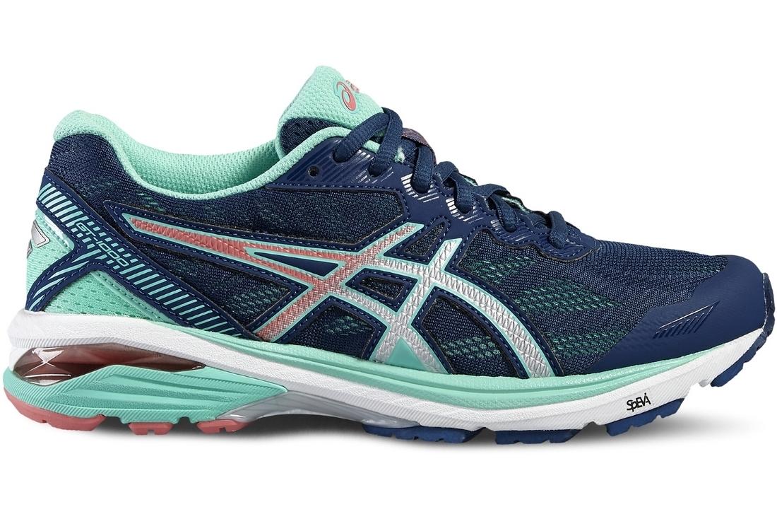 Asics GT 1000 5 T6A8N 5893 Femme chaussures de running Bleu