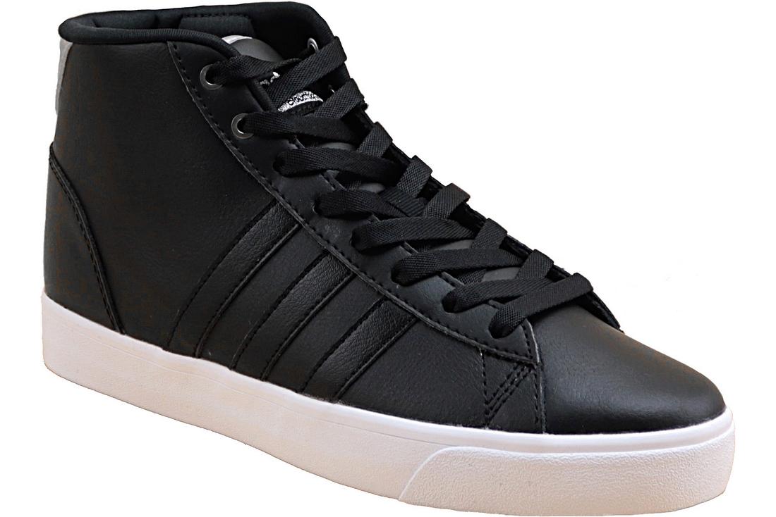 half off 3ec34 e2431 Adidas Cloudfoam Daily QT Mid AW4012 Femme chaussures de sport Noir