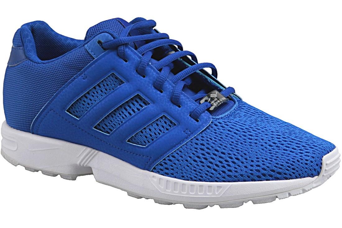 San Francisco 04a7a 3e577 Adidas Originals ZX Flux M21332 Homme chaussures de sport Bleu