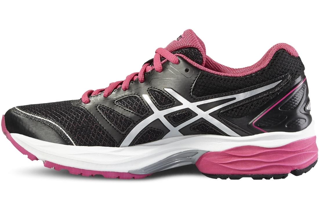 quality design 588ec 343ce Asics Gel Pulse 8 Femme Chaussures De Course-Noir Baskets Chaussures