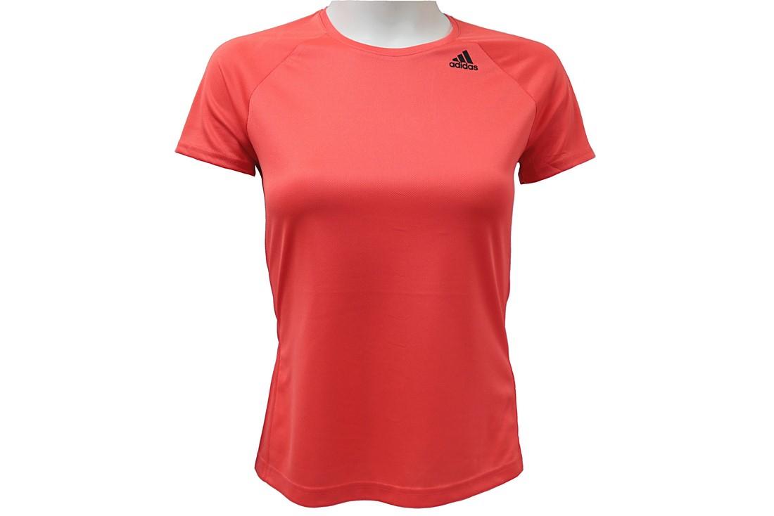 ba2a36aec6 Adidas D2M Tee Lose BK2714 Femme t-shirt Orange | Alltricks.com