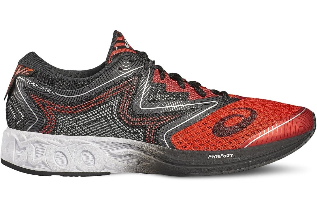 nombreux dans la variété bas prix chaussures de course Asics Noosa FF T722N-2301 Homme chaussures de running Gris