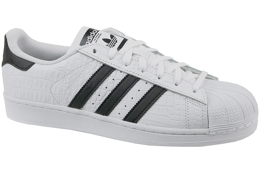 2cee8dcb19b Adidas Superstar BZ0198 Homme sneakers Blanc