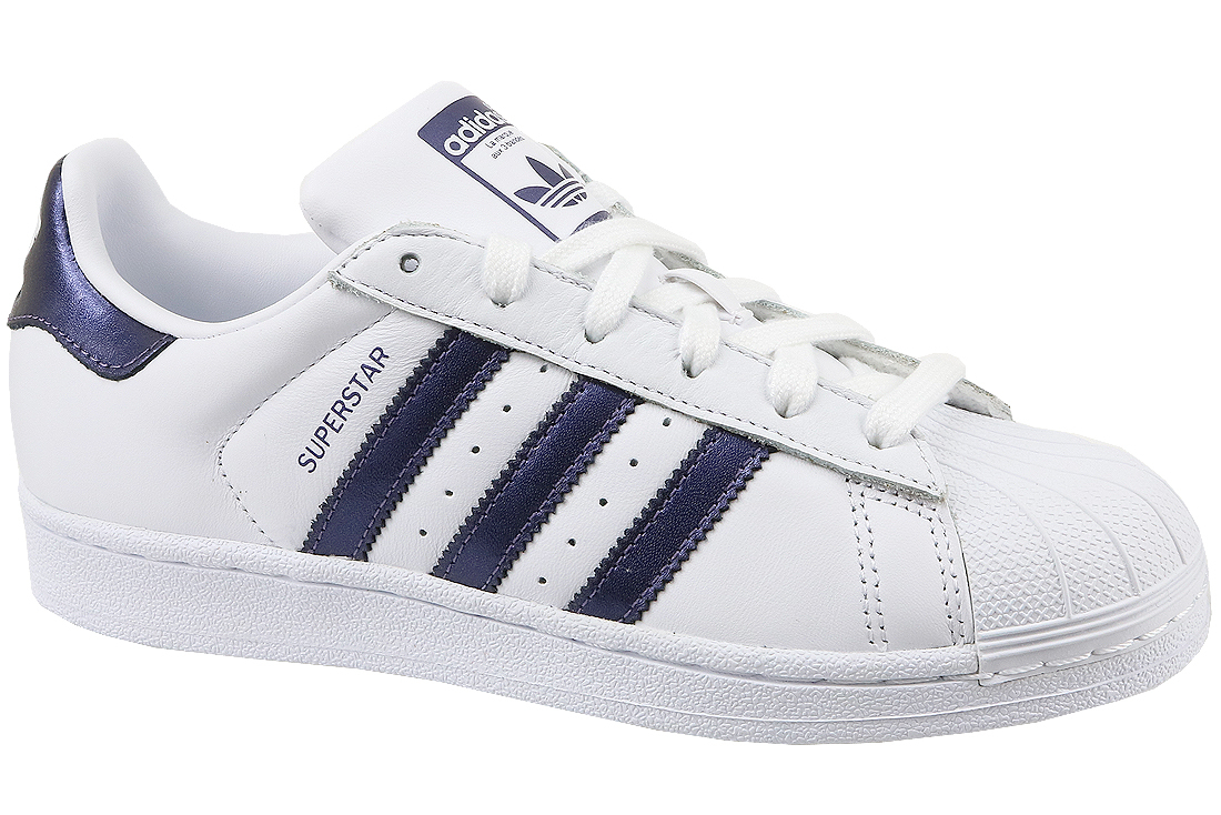 nouveau style cdf6d 731b3 Adidas Superstar W CG5464 Femme sneakers Blanc