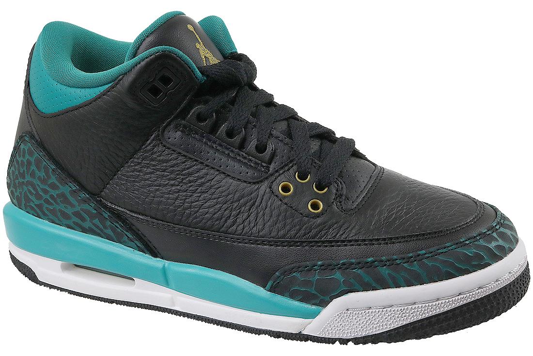meilleur pas cher 06751 db412 Jordan 3 Retro GG 441140-018 Garçon sneakers Noir