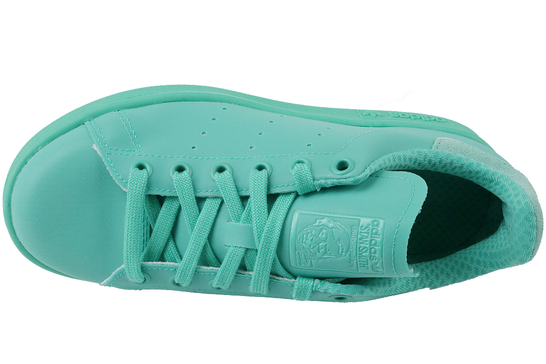 new york 21f97 98ecd Adidas Stan Smith Adicolor S80250 Femme sneakers Turquoise