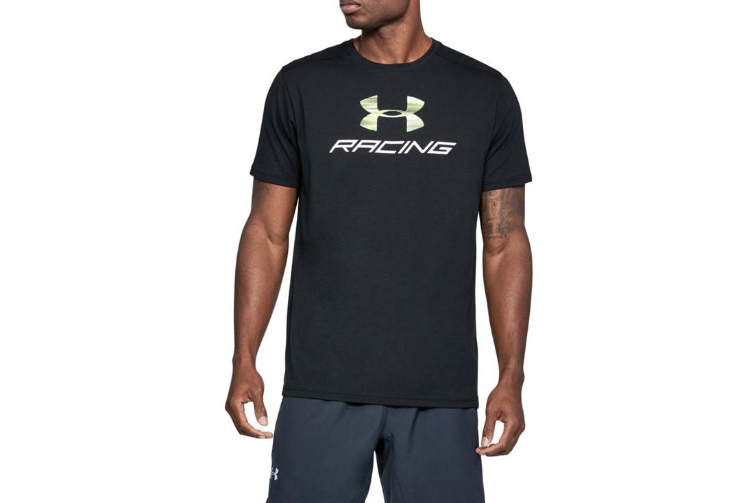 6939a35b50a UA Racing Pack SS Tee 1313246-001 Homme t-shirt Noir
