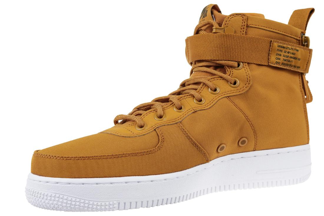 2e263e418b1 Nike Air Force 1 SF Mid 917753-700 Homme sneakers Marron