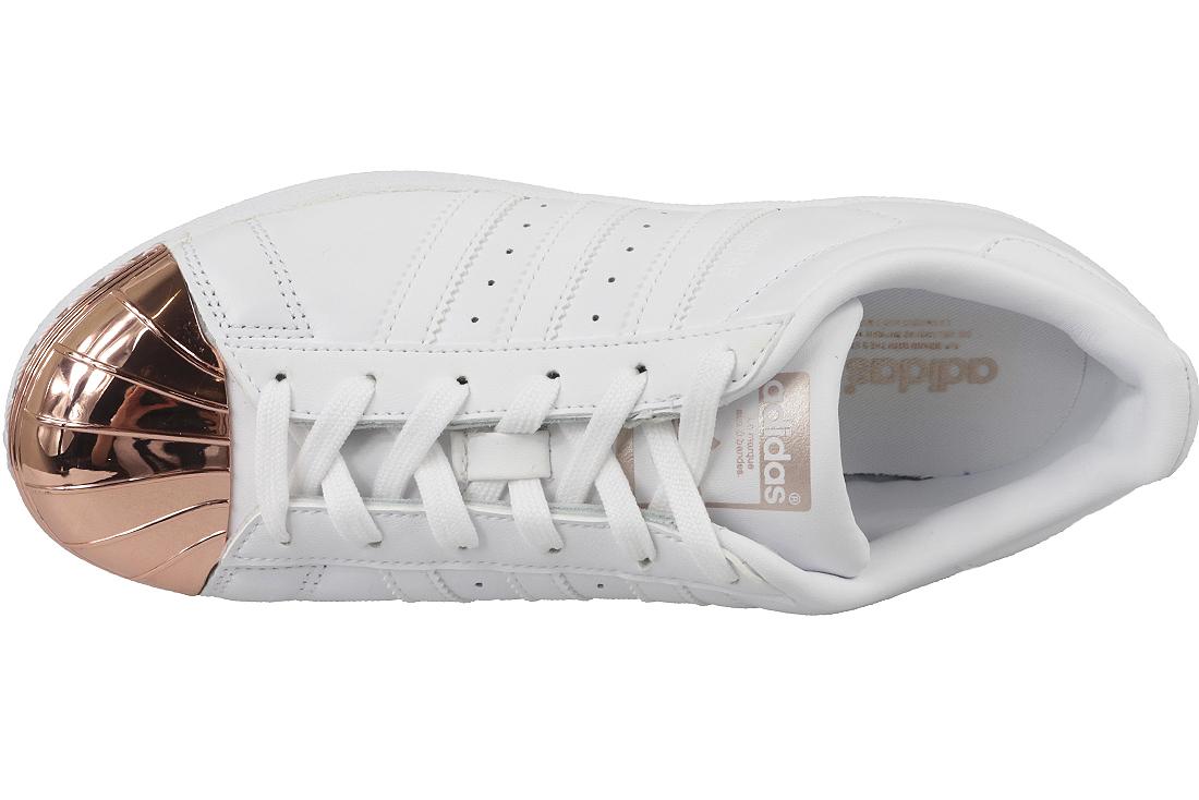 revendeur 52ea6 9831a Adidas Superstar Metal Toe W BY2882 Femme sneakers Blanc