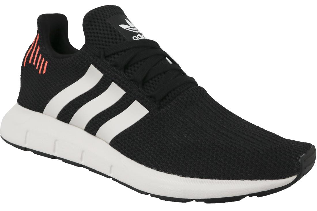 en ligne vente chaude pas cher aspect esthétique Adidas Swift Run B37730 Homme sneakers Noir