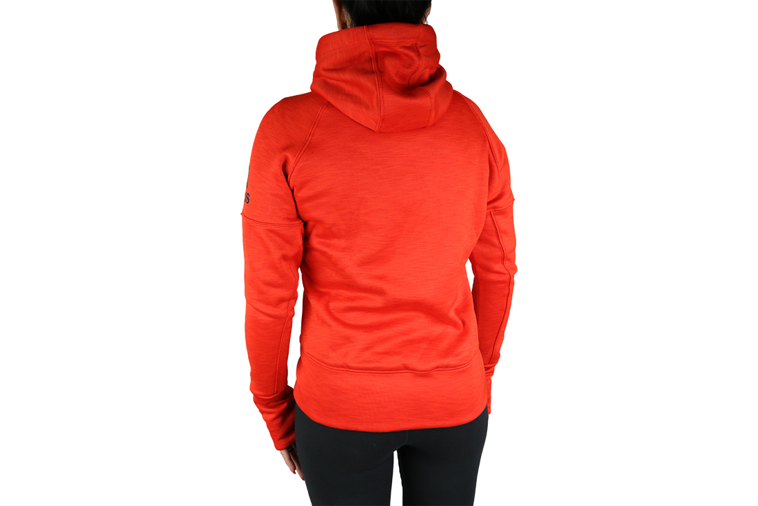 the sale of shoes shopping outlet Adidas Climaheat FZ Hoody A99548 Femme sweat-shirts Rouge