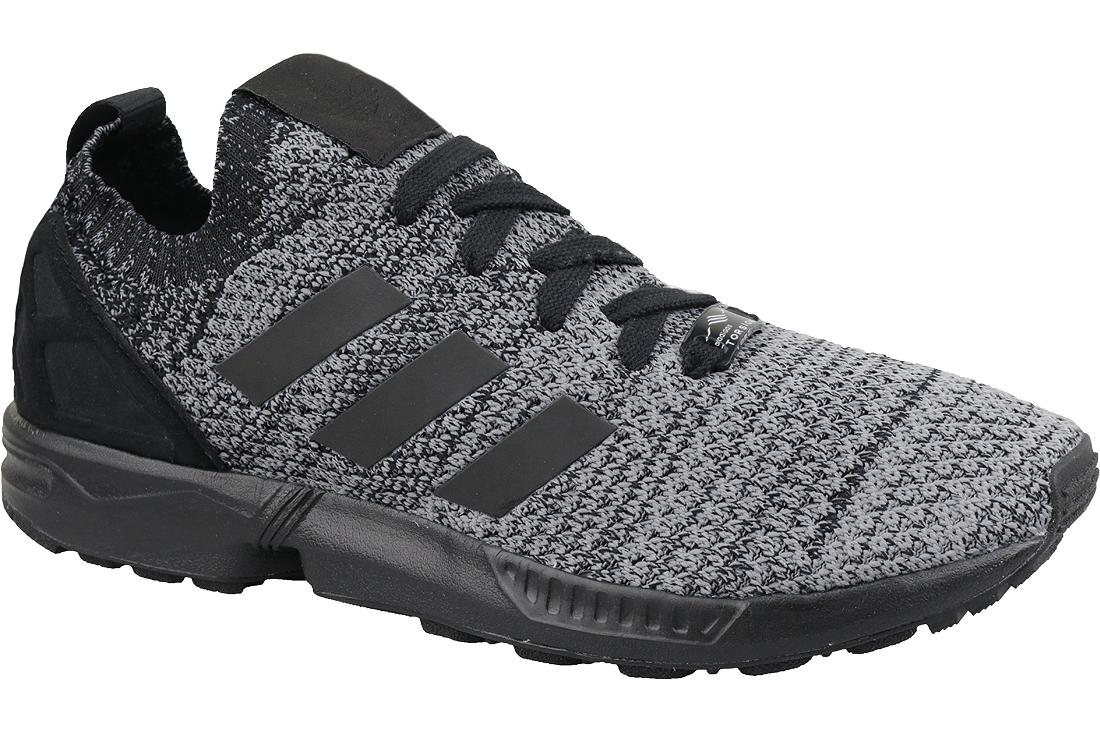 meilleures baskets 823e3 f5b84 Adidas Originals ZX Flux Primeknit BZ0562 Homme sneakers Noir