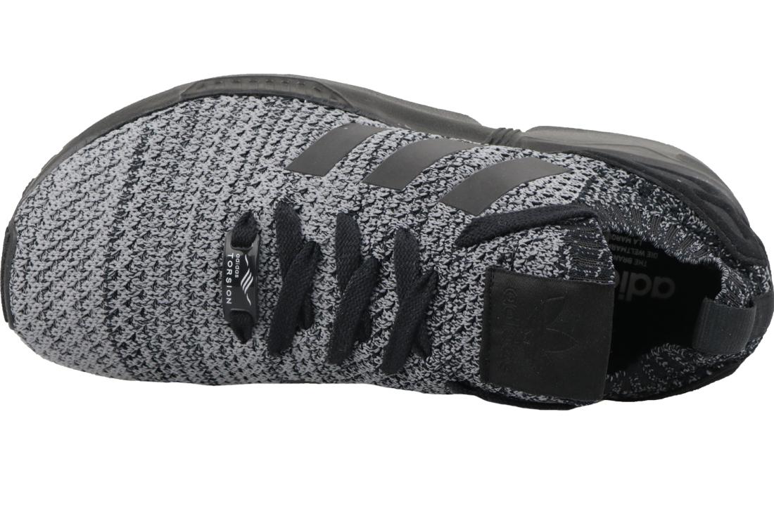 meilleures baskets fd767 4cac6 Adidas Originals ZX Flux Primeknit BZ0562 Homme sneakers Noir
